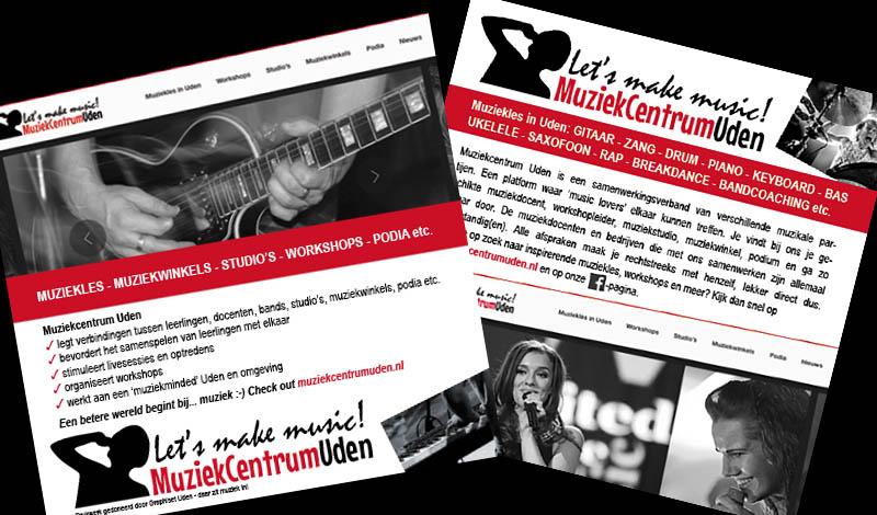 Flyers Muziekcentrum Uden