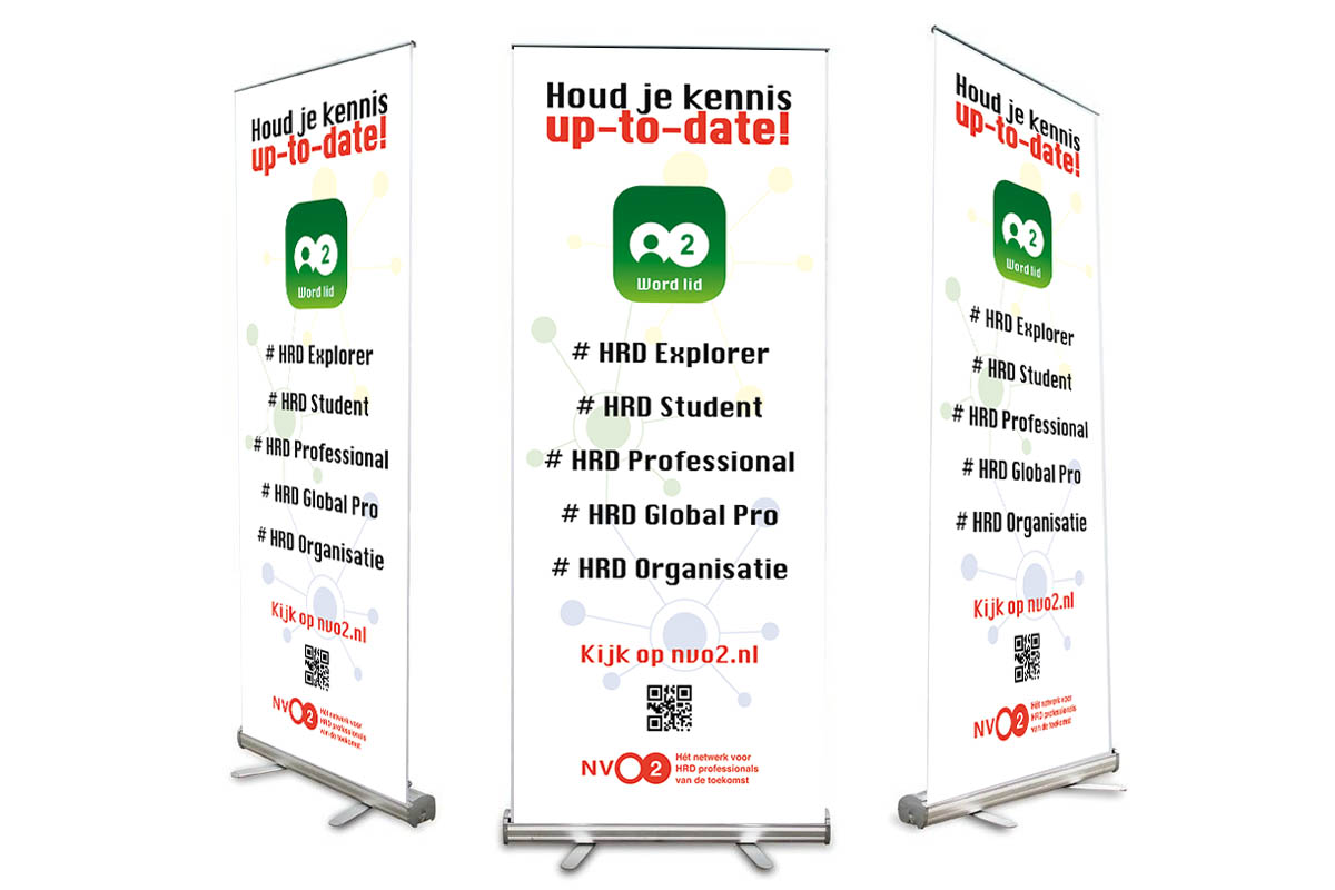 Roll-up banner NVO2