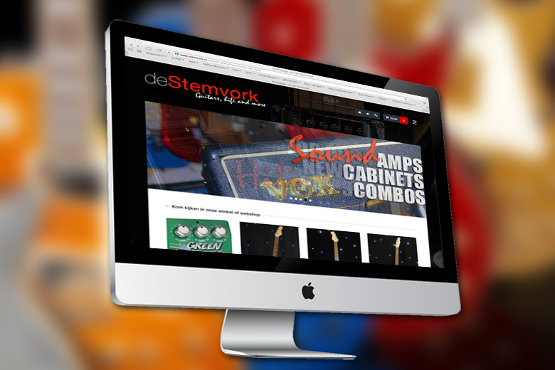 De Stemvork website