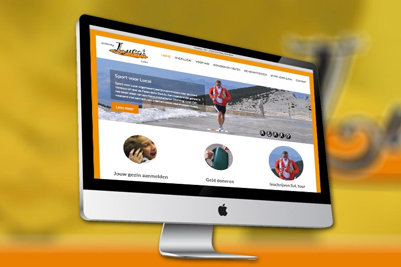 Stichting Lucai website
