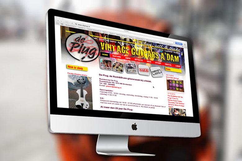 De Plug website