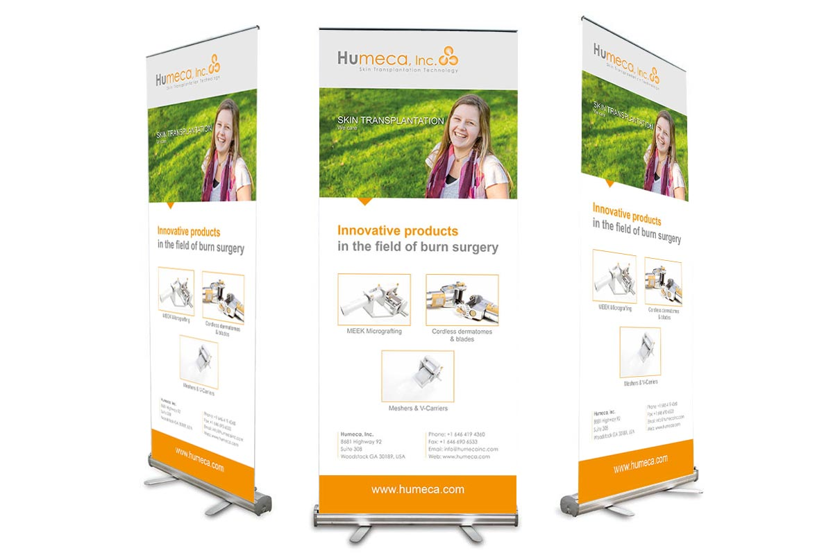 Roll-up banner Humeca