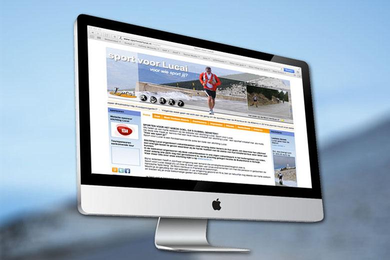 Sport voor Lucai website