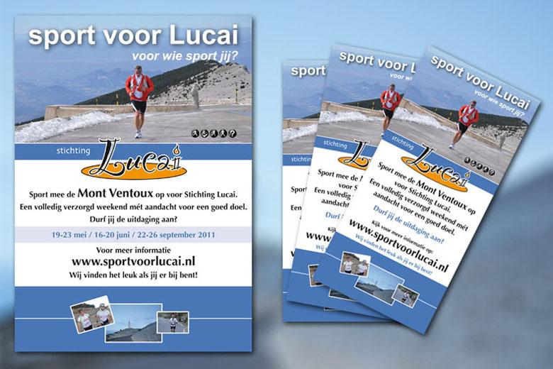 Sport Voor Lucai huisstijl