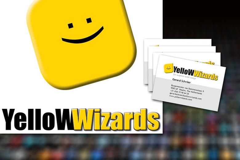 Yellow Wizards huisstijl