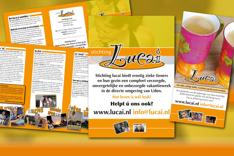 Stichting Lucai huisstijl