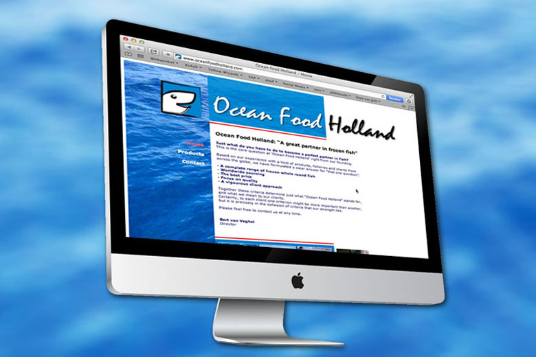 Ocean Food Holland website