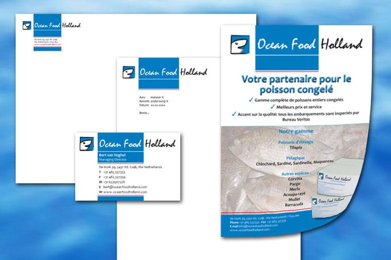Ocean Food Holland huisstijl