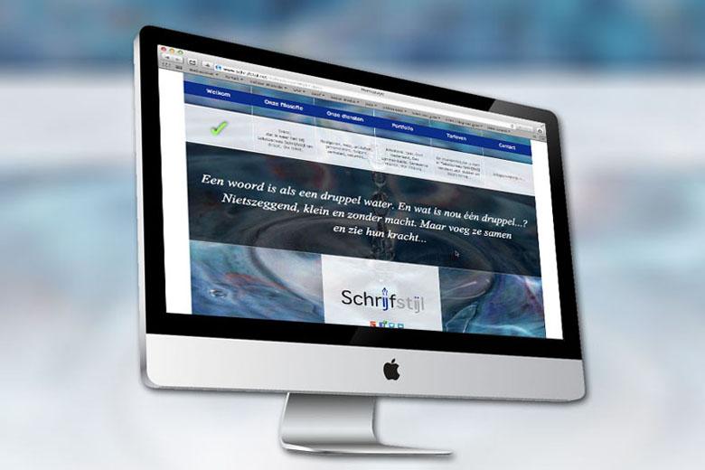 Schrijfstijl website