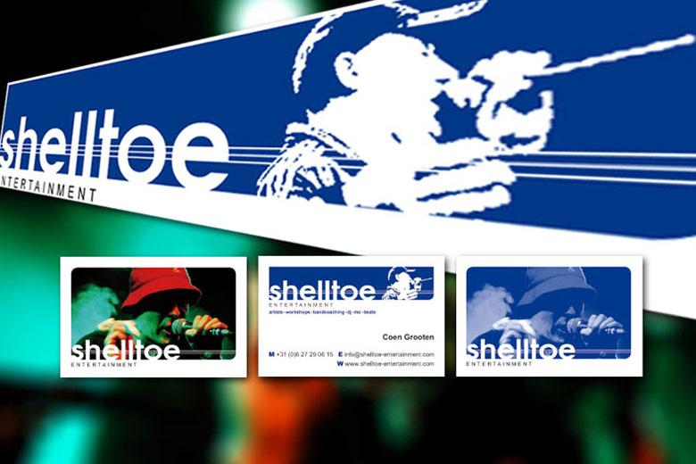 Shelltoe Entertainment huisstijl