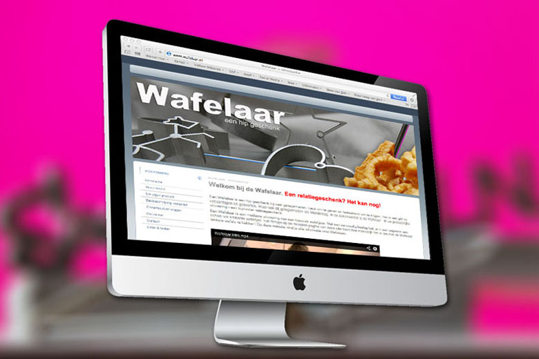Wafelaar website