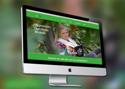 Website van uitgeverij en mediabedrijf Audax