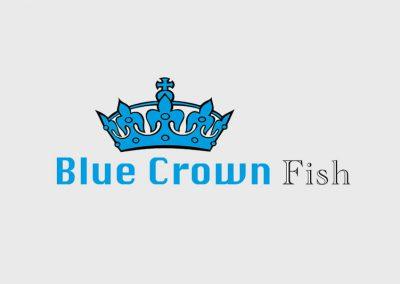 Logo Blue Crown Fish