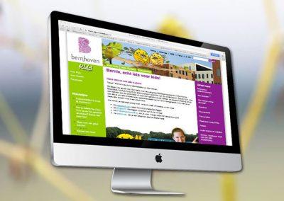 Website van ziekenhuis Bernhoven Kids