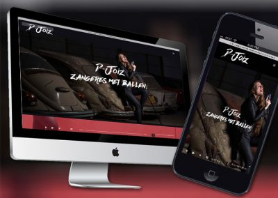 Website van zangeres D-Joiz
