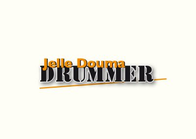 Logo drummer Jelle Douma