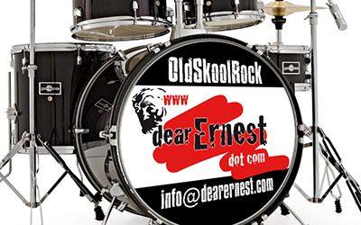 drumvel stickers voor muzikanten en bands