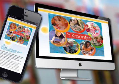 Website van 't Kroontje Veghel