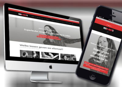 Website van muziekschool Muziekfabriek D-Joiz