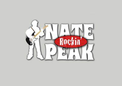 Logo Rockin Nate Peak Festival