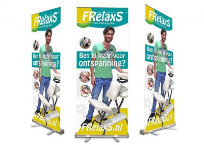 Roll-up banner Frelaxs