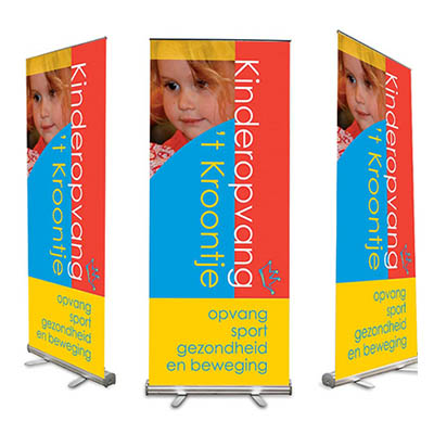 Roll-up banner 't Kroontje Veghel