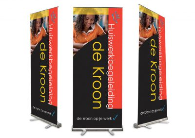 Roll-up banner de Kroon