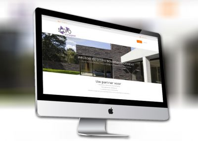 Website van bouwmanagementbureau Scopo