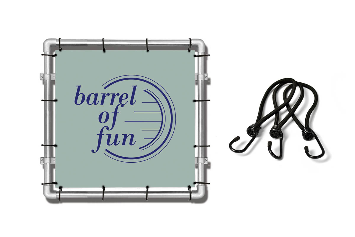 Spandoek Barrel of Fun