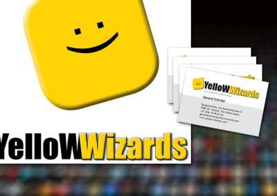 Drukwerk Yellow Wizards