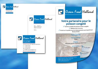 Huisstijl Ocean Food Holland