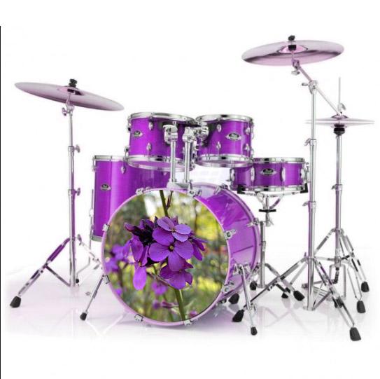 Flower drumstel